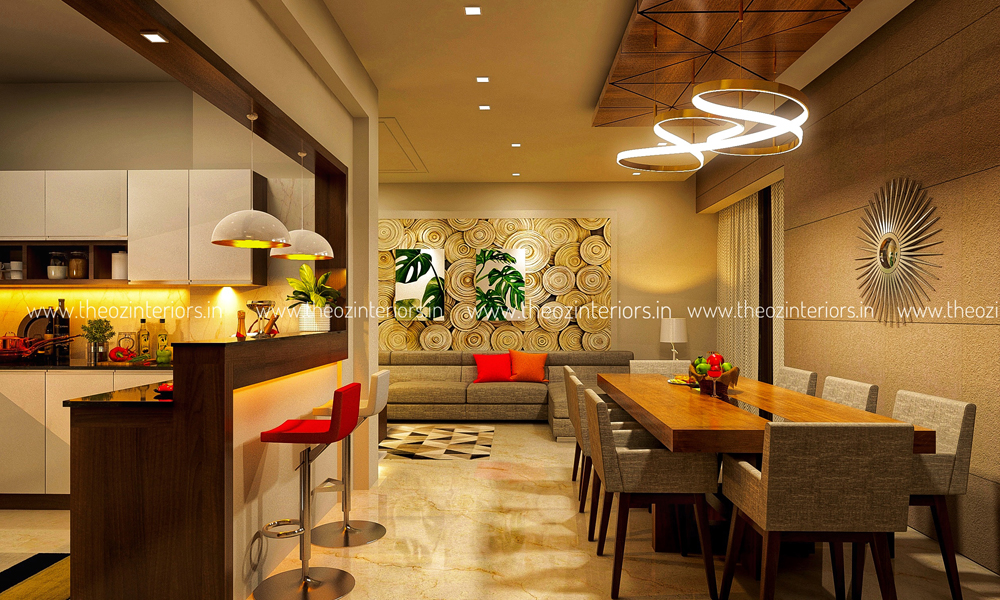 Theoz interiors cochin interior design portfolio cochin for Professional interior decorator